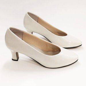 Cream Colored Heels by Liz Baker